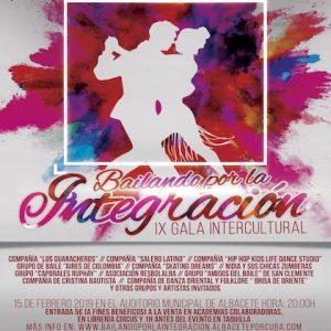 Participación en la IX Gala Intercultural «Bailando por la Integración 2019»